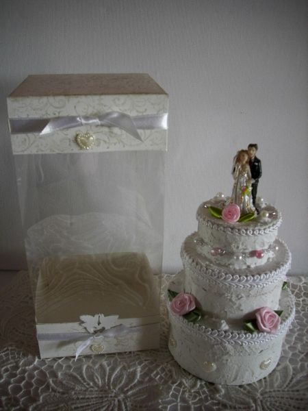 Hochzeitstorte In Acetat Box Bastel Blog De