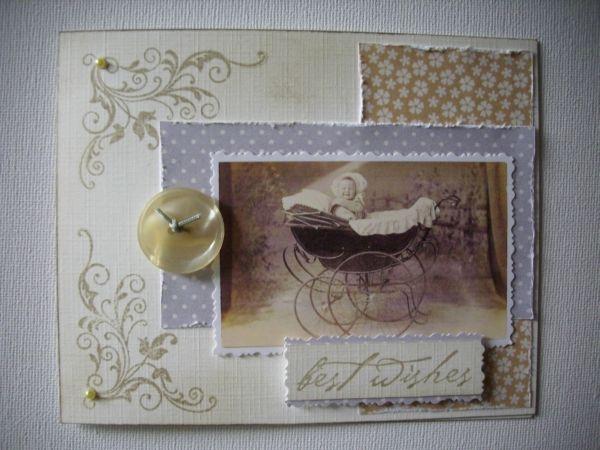 Connys bastel blog part 16 - Vintage karten basteln ...